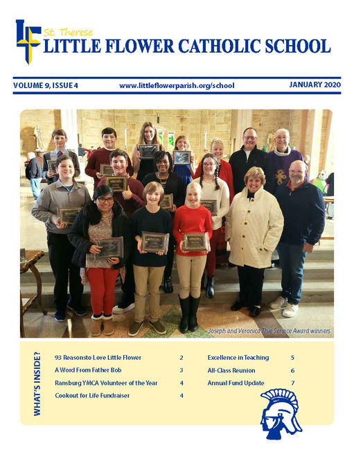 Latest Quarterly Newsletter for Little Flower School